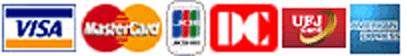 VISA/Master Card/JCB/DC/UFJ/AMERICAN EXPRESS